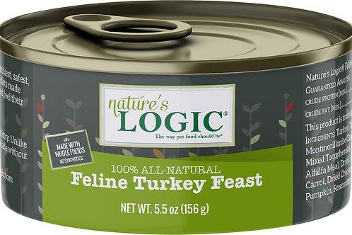 Nature's Logic Feline Turkey Feast Cat Food