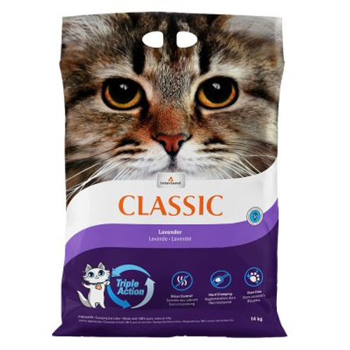 Intersand Classic Lavender Scented Kitty Litter