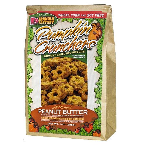 K9 Peanut Butter Pumpkin Crunchers Treats for Dogs