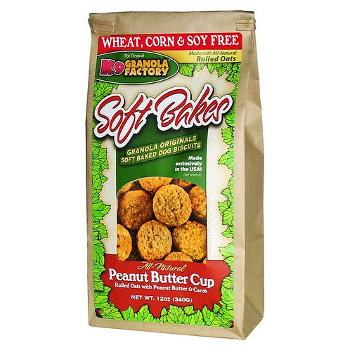 K9 Peanut Butter Cup Soft-Bakes Treats for Dogs