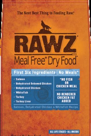 Rawz Salmon, Chicken, & Whitefish Recipe Dog Food