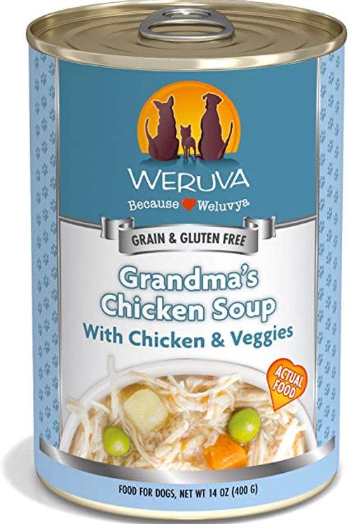 Weruva Grandma's Chicken Soup with Chicken & Veggies Dog Food
