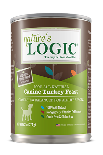Nature's Logic Canine Turkey Feast Dog Food