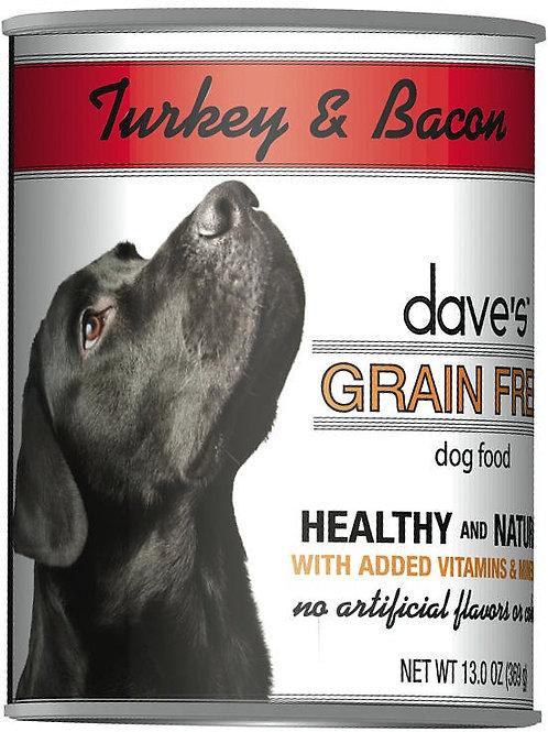 Dave's Turkey & Bacon Dog Food