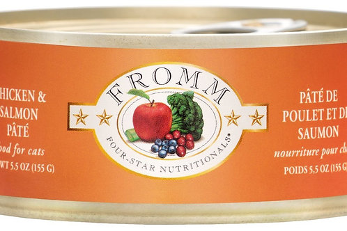 Fromm Chicken & Salmon Pâté Cat Food