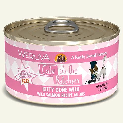 Weruva Kitty Gone Wild - Wild Salmon Cat Food