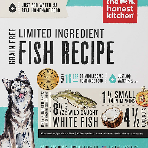 The Honest Kitchen Limited Ingredient Fish Recipe Dog Food