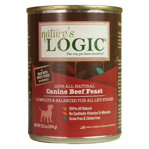 Nature's Logic Canine Beef Feast Dog Food