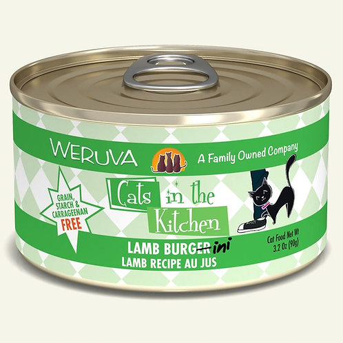 Weruva Lamb Burg-ini - Lamb Cat Food