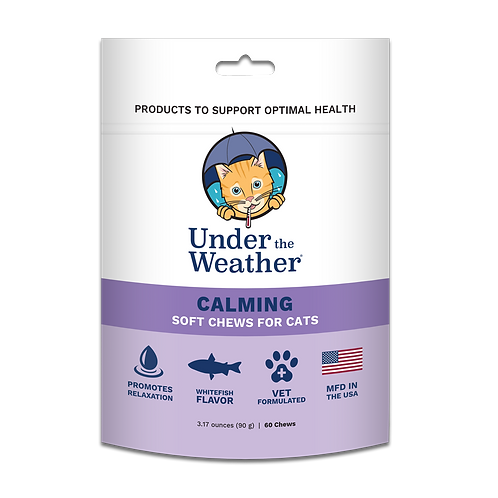 Under the Weather Calming Chews for Cats