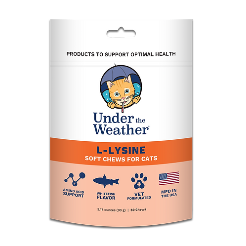 Under the Weather L-Lysine Chews for Cats