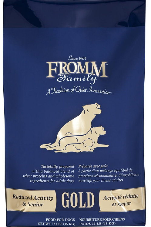 Fromm Gold Senior Recipe Dog Food