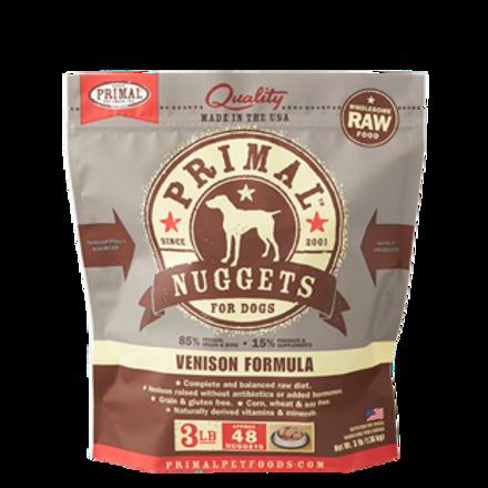 Primal Venison Formula Raw Dog Food