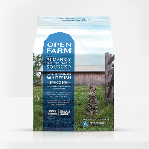 Open Farm Whitefish Recipe Cat Food
