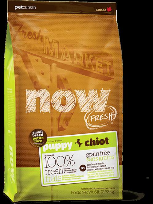 Pet Curean Now Fresh Small Breed Puppy Grain Free Formula Dog Food