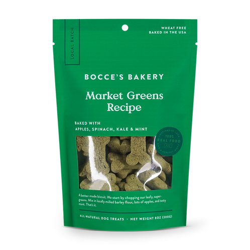 Bocce's Market Greens Recipe Dog Treats