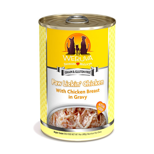 Weruva Paw Lickin' Chicken - Chicken Breast in Gravy Dog Food