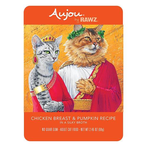 Rawz Chicken Breast & Pumpkin Recipe Aujou Cat Food