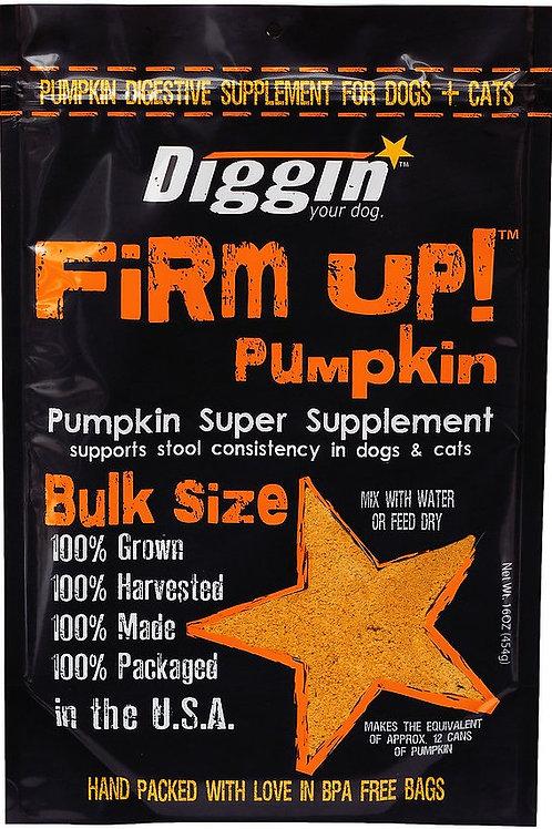 Diggin Your Dog Firm Up Pumpkin Stool Supplement
