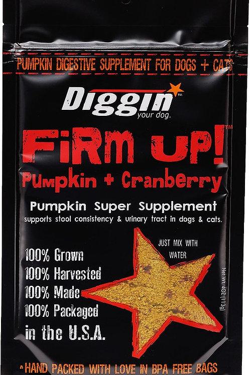 Diggin Your Dog Firm Up Pumpkin & Cranberry Stool Supplement