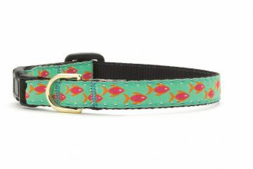 Up Country Goldfish Cat Collar
