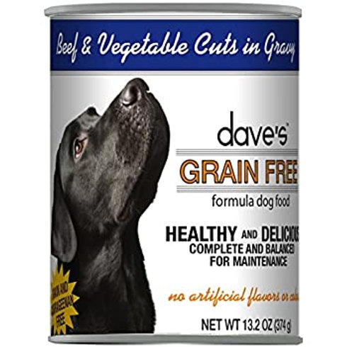 Dave's Beef & Vegetable in Gravy Dog Food