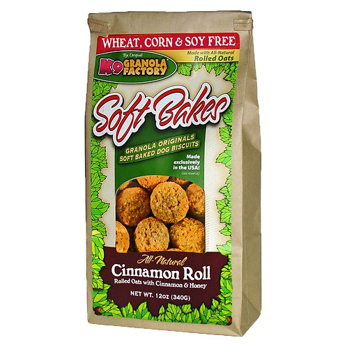 K9 Cinnamon Roll Granola Treats for Dogs