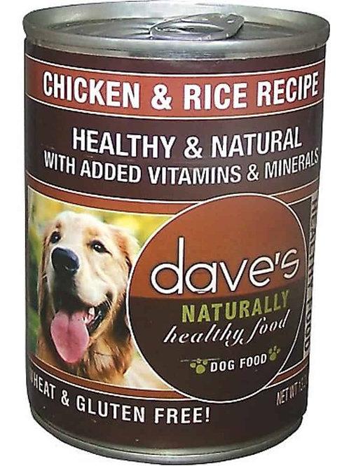 Dave's Chicken & Rice Recipe Dog Food