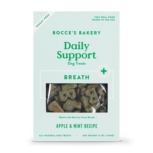 Bocce's Daily Breath Support Dog Treats