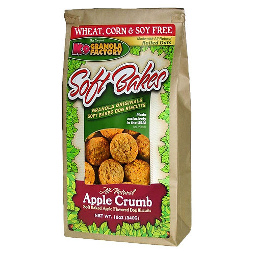 K9 Apple Crumb Soft-Bakes Treats for Dogs