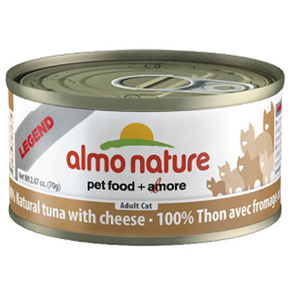 Almo Tuna with Cheese Cat Food