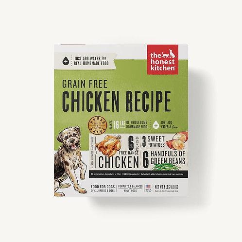 The Honest Kitchen Grain Free Chicken Recipe Dog Food (Just add water)