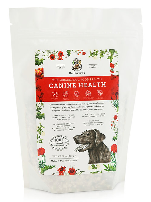 Dr. Harvey's Canine Health Miracle Pre-Mix Dog Food