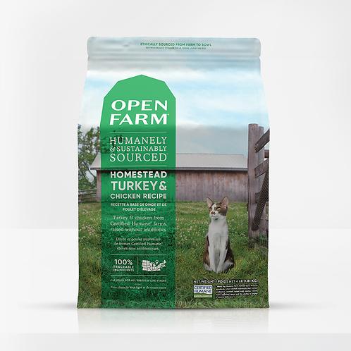 Open Farm Homestead Turkey & Chicken Recipe Cat Food