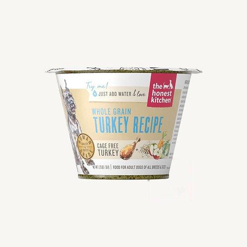 Honest Kitchen Whole Grain Turkey Recipe Dog Food (Just add water)