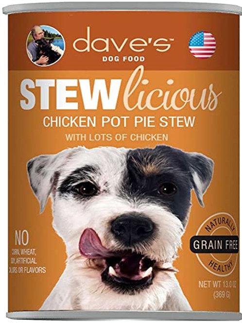 Dave's Chicken Pot Pie Stew Dog Food