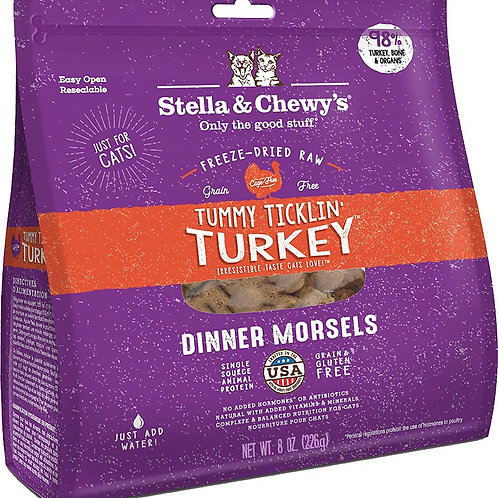 Stella & Chewy's Turkey Dinner Morsels Cat Food