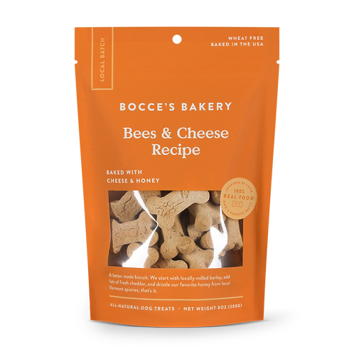 Bocce's Bees & Cheese Recipe Dog Treats