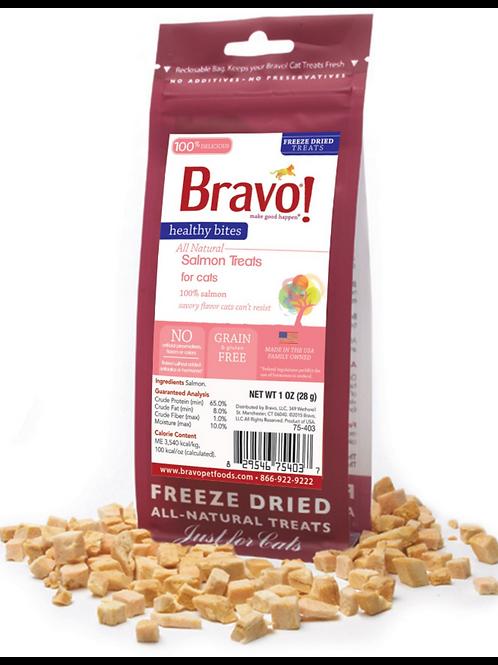 Bravo Freeze-Dried Salmon Treats for Cats