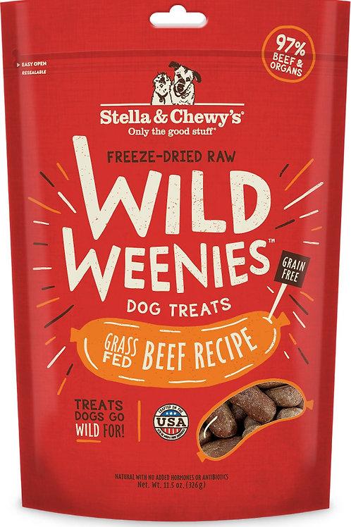 Stella & Chewy's Beef Recipe Wild Weenies Dog Treats