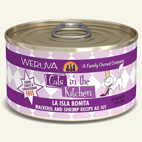Weruva La Isla Bonita - Mackerel and Shrimp Cat Food