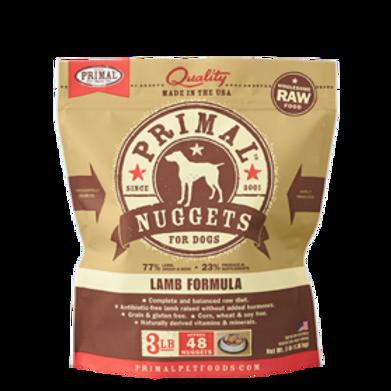 Primal Lamb Formula Raw Dog Food