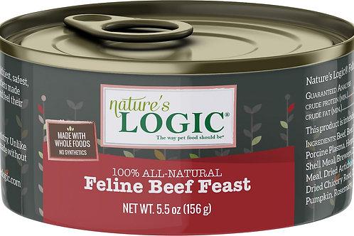 Nature's Logic Feline Beef Feast Cat Food