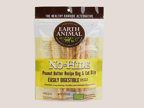 Earth Animal No-Hide Peanut Butter Recipe Dog & Cat Stix