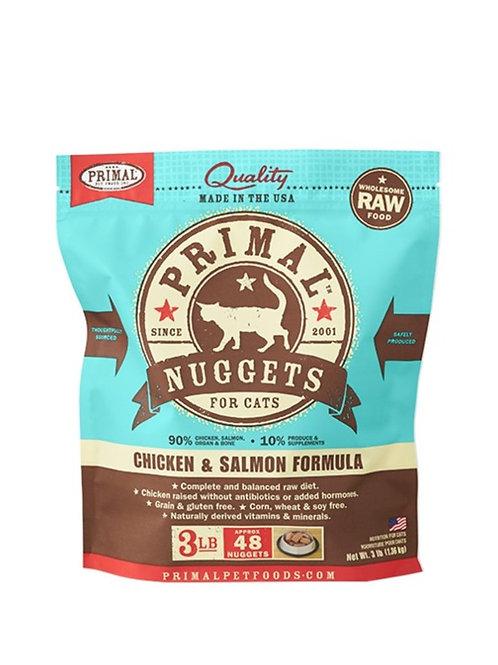 Primal Chick & Salmon Formula Raw Cat Food