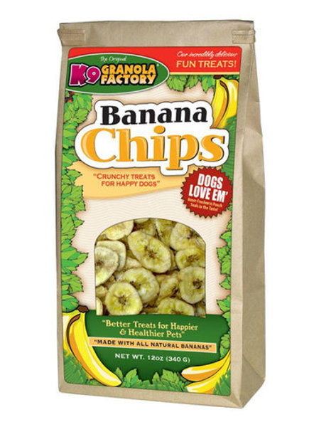 K9 Banana Chips Treats for Dogs
