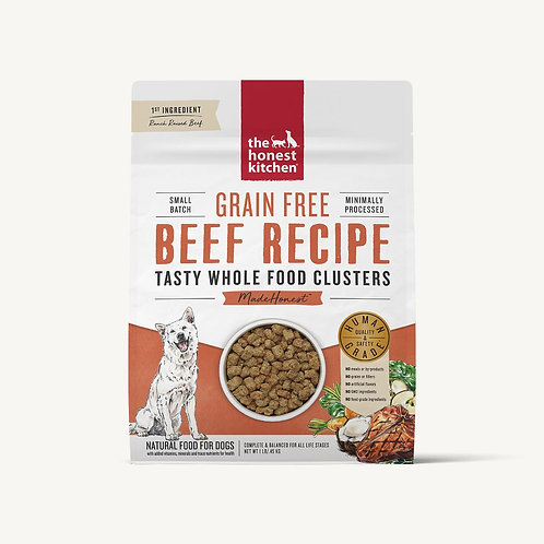 Honest Kitchen Beef Recipe Whole Food Clusters Dog Food