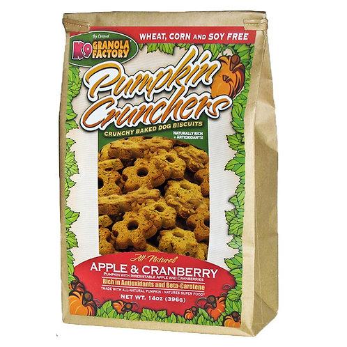 K9 Apple & Cranberry Pumpkin Crunchers Treats for Dogs