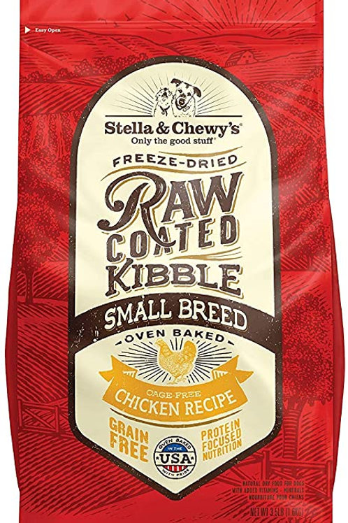 Stella & Chewy's Small Breed Formula Chicken Recipe Raw Coated Kibble Dog Food