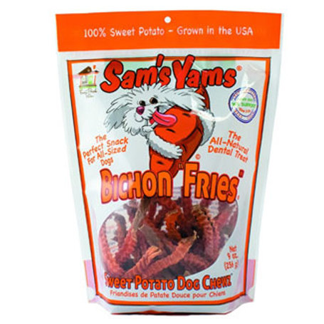 Sam's Yams Bichon Fries Sweet Potato Chews for Dogs